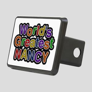 World's Greatest Nancy Rectangular Hitch Cover