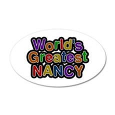 World's Greatest Nancy Wall Decal