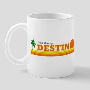 Visit Beautiful Destin, Flori Mug