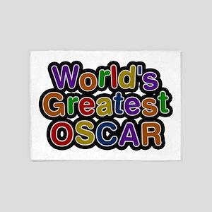 World's Greatest Oscar 5'x7' Area Rug