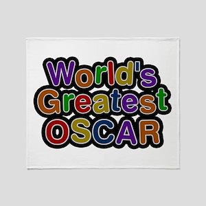 World's Greatest Oscar Throw Blanket