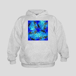 Dragonfly Flit Electric Blue Sweatshirt