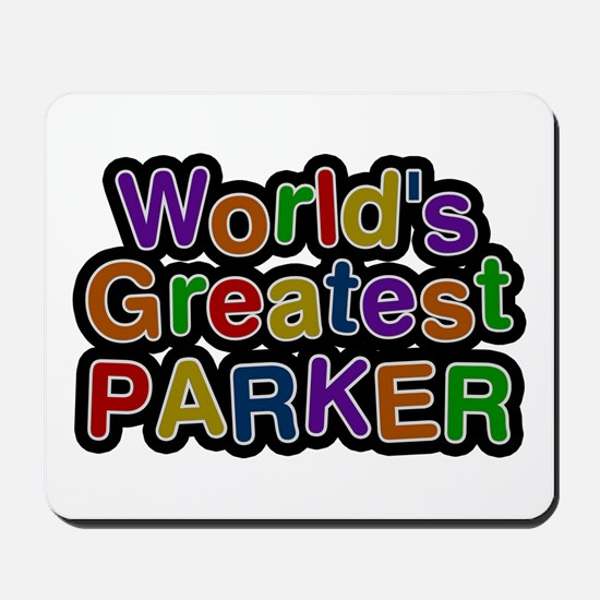 World's Greatest Parker Mousepad