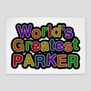 World's Greatest Parker 5'x7' Area Rug