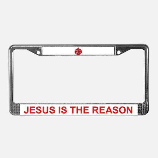 Happy Birthday Jesus License Plate Frame