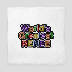 World's Greatest Renee Queen Duvet