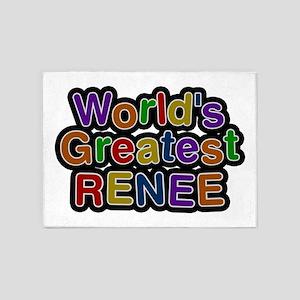 World's Greatest Renee 5'x7' Area Rug