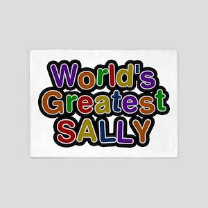 World's Greatest Sally 5'x7' Area Rug