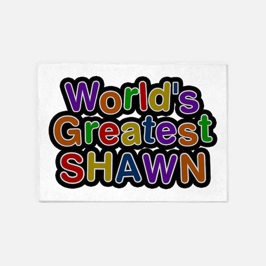 World's Greatest Shawn 5'x7' Area Rug
