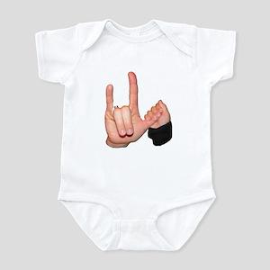ASL I Love You Mom & Baby Infant Bodysuit