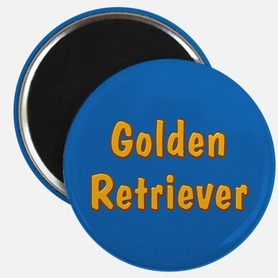 Golden Retriever Magnet