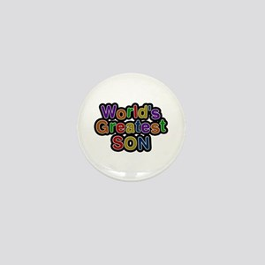 World's Greatest Son Mini Button