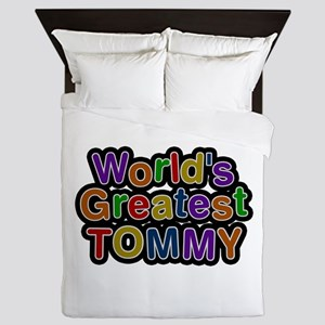 World's Greatest Tommy Queen Duvet