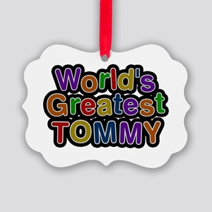 World's Greatest Tommy Picture Ornament