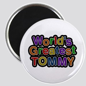 World's Greatest Tommy Round Magnet