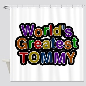 World's Greatest Tommy Shower Curtain