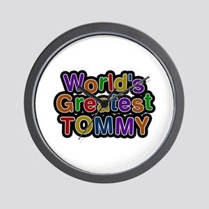 World's Greatest Tommy Wall Clock