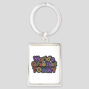 World's Greatest Tommy Portrait Keychain