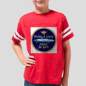 Girls School patch Youth Football Shirt