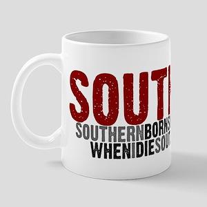 SOUTHERN BORN Mug
