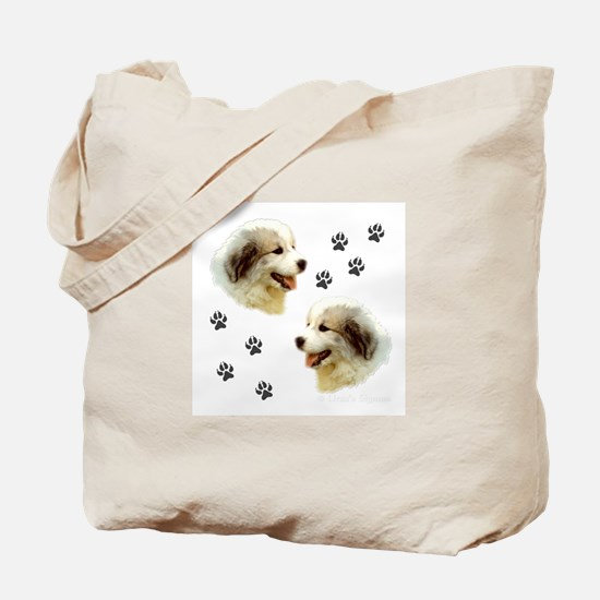Puppy Paws<br>Tote Bag