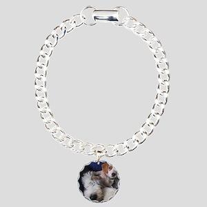 thanks_dog_card Charm Bracelet, One Charm