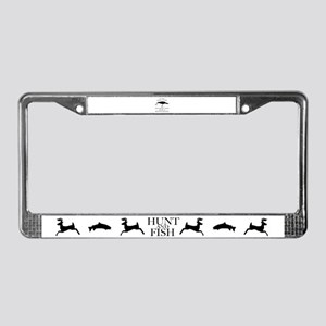 Have a lure License Plate Frame