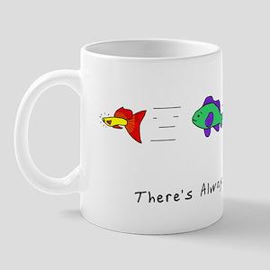 bigger_fish_shirt Mug