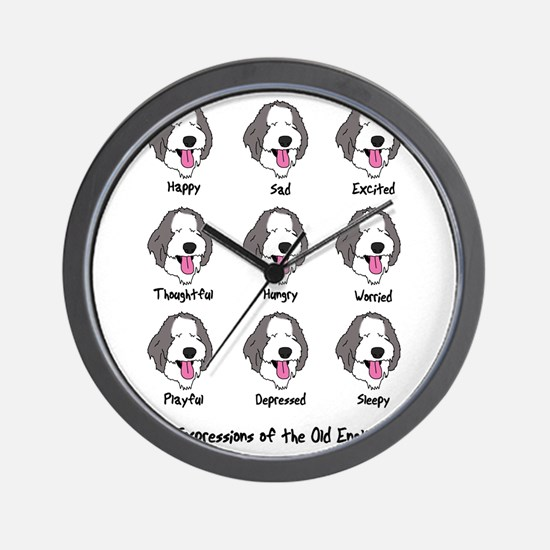 expressions_oes Wall Clock