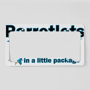 Blue Parrotlet Shirt License Plate Holder