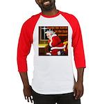 'Santa knelt' Baseball Jersey