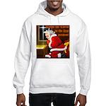 'Santa knelt' Hooded Sweatshirt