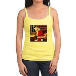 'Santa knelt' Jr. Spaghetti Tank