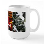 'Santa knelt' Large Mug