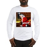 'Santa knelt' Long Sleeve T-Shirt