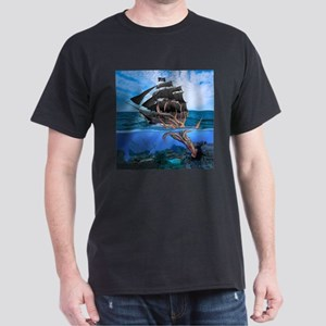 Pirates vs The Giant Squid T-Shirt