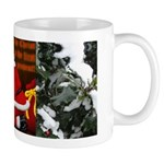 'Santa knelt' Mug