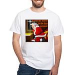 'Santa knelt' White T-Shirt