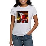 'Santa knelt' Women's T-Shirt