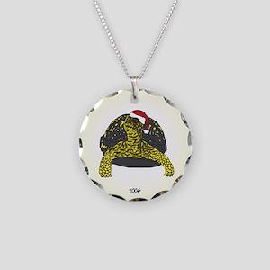 ornament_boxturtle_lighter Necklace Circle Charm
