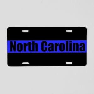 North Carolina Police Aluminum License Plate