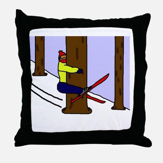 treehugger_blackshirt Throw Pillow
