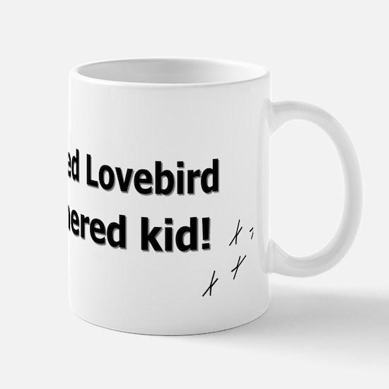 featheredkids_peachfacedlovebird Mug