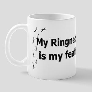 featheredkids_ringneckparakeet Mug