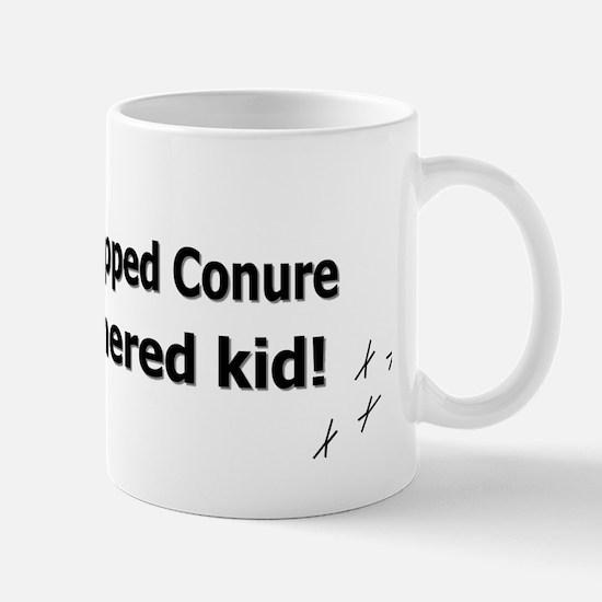 featheredkids_goldencappedconure Mug