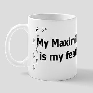 featheredkids_maximillianpionus Mug