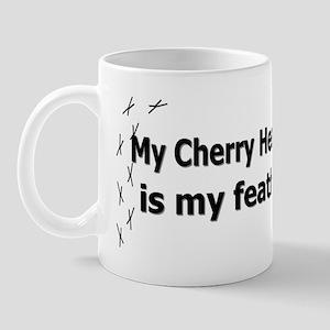 featheredkids_cherryheadedconure Mug