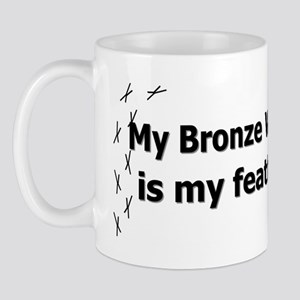 featheredkids_bronzewingpionus Mug