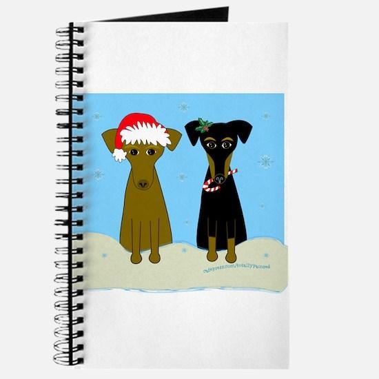 Christmas Min Pins Journal
