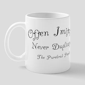 poodle_oftenimitated Mug